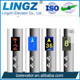 elevación de la marca de fábrica del elevador 0.4m/S Lingz del pasajero 400kg para el restaurante
