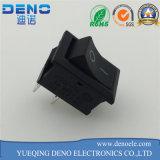 Mini schwarzer Wippenschalter mit Pin 3