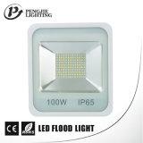 parte superior 100W que vende o projector quadrado do diodo emissor de luz com Ce RoHS SAA