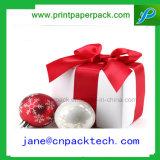 Rectángulo de empaquetado del favor del regalo de encargo de la Navidad