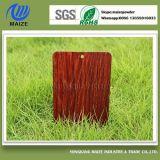 Alta capa de madera de imitación estable del polvo del traspaso térmico del efecto