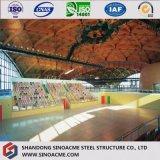 現代セリウムによって証明されるプレハブの鋼鉄競技場か建物