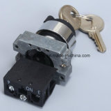 [22مّ] معدن نوع [بوش بوتّون سويتش] مع مفتاح