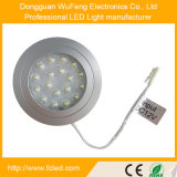 luz concentrada 1.5W do gabinete do diodo emissor de luz da lente