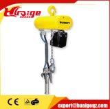 Élévateur à chaînes pneumatique d'épreuve de Sparek et élévateur à chaînes d'air