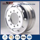 アルミ合金の車輪は掘削機のためのタイヤに縁を付ける