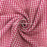 Tejido de lana teñido de lana sobretodo