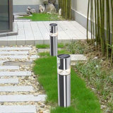 Luz ao ar livre do sensor do diodo emissor de luz do trajeto do jardim da fonte de alimentação solar