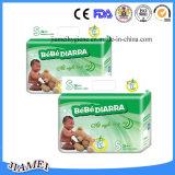 Couches-culottes remplaçables de bébé de coton du marché du Ghana avec la bonne absorptivité