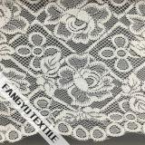 服のための絶妙で大きい花の綿のレースファブリック
