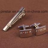 Barra de lazo en blanco de encargo al por mayor del clip de lazo de la plata/del oro de la alta calidad