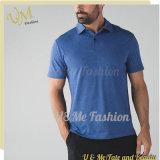 Dessus de bonne qualité de Mens de chemise de circuit de vêtement de sport de coton de chemise de polo d'hommes
