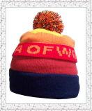 As multi cores da forma nova aquecem o chapéu feito malha do Beanie para as meninas (1-3374)