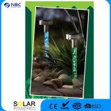 T-Shaped Solaracryl, Edelstahl, Solarluftblase Outdoow Solarlampe