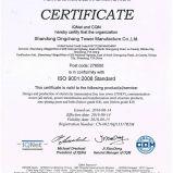 Torre de aço da transmissão de potência com certificado do ISO