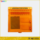Station de verrouillage de Tagout de panneau du blocage Bd-B101