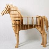 Kreativer hölzerner Pferden-Seiten-Tisch
