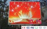높은 정의 P10 풀 컬러 전시 LED 영상 벽