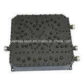 Três combinador da freqüência 2125-2170 megahertz