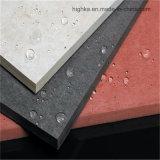 Matériau décoratif extérieur imperméable à l'eau de finissage de panneau de mur de panneau de la colle de fibre
