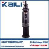 4tage QY Oil-Filled versenkbare (Mehrstufen) Grubenpumpe der Pumpen-Trinkwasser-Pumpe