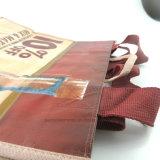 卸し売り昇進のカスタム安い非編まれた6本のびんの戦闘状況表示板のCarringのワイン袋