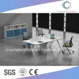 Poste de travail élégant moderne de gestionnaire de bureau du modèle 1.8m