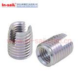 302金属のためのセルフ・タッピング糸の挿入