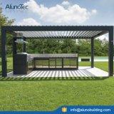주문을 받아서 만들어진 알루미늄 차일 Pergola 지붕을 방수 처리하십시오