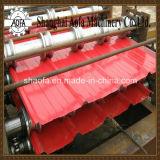 Roulis de feuille de toiture de Double couche formant la machine (AF-R1100/1025)