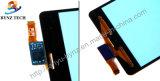 Экран касания LCD сотового телефона для агрегата цифрователя объектива компактного Z3 миниого D5803 D5833 датчика Сони Xperia Z3 стеклянного