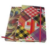 Gewebe-Ausgabe-Buch mit elastischem Band
