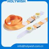 Hermoso No Logo Poliéster Color Impreso Cardholder En blanco Lanyards