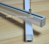 선형 가벼운 이음쇠 유숙이 중단한 LED 알루미늄에 의하여 윤곽을 그린다