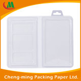 Blister caja de empaquetado reciclable con ventana de PVC