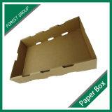 Коробка верхнего качества бумажная для подноса картона плодоовощ упаковки плодоовощ