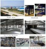 Sûreté et profil respectueux de l'environnement de guichet du matériau PVC/Plastic pour le marché sud-américain