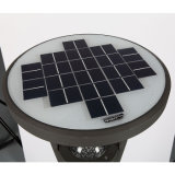 éclairages LED solaires de 7.4V 9ah pour l'usage de patio de jardin