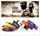 Bracelet populaire de silicones de sport avec passion de pouvoir