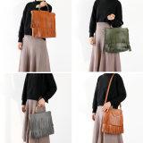 PUの革ハンドバッグ、デザイナーハンドバッグ、大きい容量袋、女性ハンドバッグ