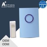 Doorbell sem fio remoto da bateria de 16 melodias com volume ajustável