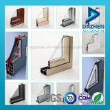 Profil d'alliage de l'aluminium 6063 de cadre de tissu pour rideaux de porte de guichet