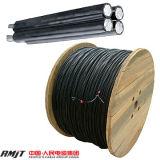Cables eléctricos aislados XLPE de aluminio del ABC del conductor (JKLYJ)