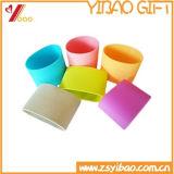 Coperchio termoresistente personalizzato della tazza di tè del silicone di marchio (YB-AB-028)