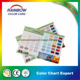 Customized Wall Paper Coating Card Color
