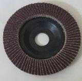 Disco abrasivo de la solapa (cubierta plástica)