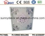 Tuiles bon marché de plafond de PVC de panneaux de mur de plafond de PVC de matériaux de construction de poids léger des prix 595*595mm de la Chine