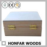 미완성 처리되지 않는 나무로 되는 정유 상자 저장 상자