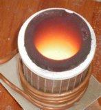 horno fusorio de la calefacción de inducción de la plata del cobre del oro 20~30kg