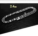 4 acier d'acier inoxydable de la chaîne 316L de collier de modèle/titanique